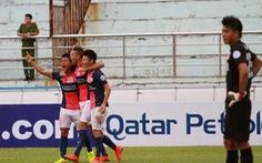 Ninh Bình thua Kitchee 2-4 ở lượt đi tứ kết AFC Cup