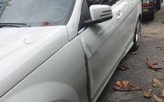 Làm rõ vụ người mẫu Thanh Hằng mở cửa xe hơi gây tai nạn