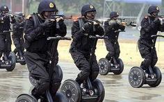 Lo ngại IS, Trung Quốc tăng cường chống khủng bố