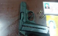 113, hình sự tước súng kẻ rút súng dọa cán bộ