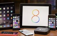 Apple phát hành bản nâng cấp iOS 8.0.2