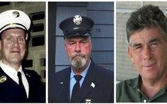 Ba lính cứu hỏa vụ 11-9 chết cùng ngày vì ung thư