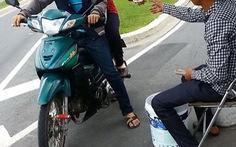 Trung tâm hành chính Bình Dươngthu phí giữ xe trái luật