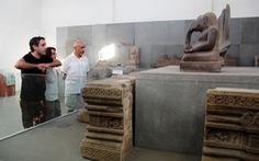 Giữ nguyên hiện trạngBảo tàng Điêu khắc Champa
