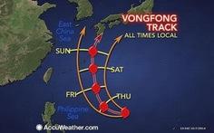 Siêu bão mạnh nhất năm 2014 đánh vào Nhật Bản
