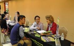Học bổng từ 16 trường đại học tại hội thảo triển lãm du học Mỹ