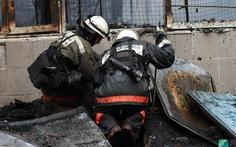 Chợ Việt tại Nga cháy do bị đốt