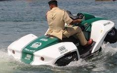 """Cảnh sát Dubai """"tuyển"""" thêm xe lưỡng cư Quadski"""