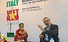 100 doanh nghiệp Ý tới VN tìm cơ hội làm ăn