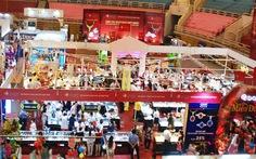 Trang sức DOJI 2 ngày đón 600 khách mua sắm tại hội chợ VIJF