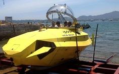 Tàu lặn Hòa Bình chuẩn bị thử nghiệm ở biển Nha Trang