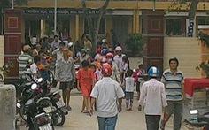 Đổ cổng trường, một học sinh chết tại chỗ