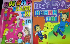 Tràn lan sách nhảm cho trẻ em