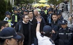 Sinh viên Hong Kong vẫn biểu tình bất chấp lãnh đạo đầu hàng