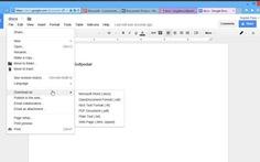 Có thể sửa file Word Docx trong Gmail
