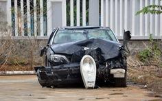 Cận cảnh vụ CSGT lái xe BMW gây tai nạn kinh hoàng
