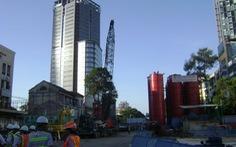 Bắt đầu xây tầng hầm ga metro Nhà hát TP.HCM sâu 36m