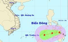 BãoJangmi có khả năng vào biển Đông
