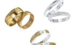 Nhẫn cưới DOJI trả góp lãi suất 0%, giảm thêm 10%