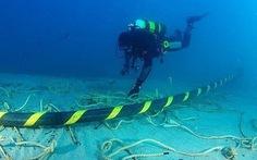 Đang xác định vị trí đứt cáp quang biển AAG