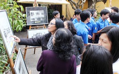 Triển lãm ảnh phong trào học sinh, sinh viên Huế qua các thời kỳ