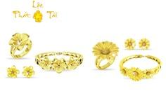 DOJI giới thiệu trang sức vàng 24K xu hướng hiện đại