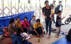 Dân Kon Tum xuống Quảng Nam vây nhà máy cồn đòi nợ