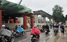 Thi công trở lại Dự án đường sắt Cát Linh - Hà Đông