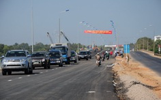 Thông xe cầu La Ngà mới
