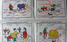 Tranh làng Sìnhthêm bốn mẫu mới