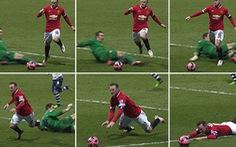 Rooney xin lỗi vì đã ăn vạ kiếm phạt đền