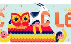 Google cùng đón Tết con Dê với người Việt