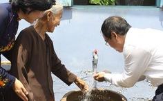Tìm nguồn nước ngầm tại vùng khan hiếm nước
