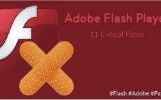 Adobe vá 11 lỗ hổng nghiêm trọng trong Flash Player