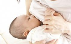 Nuôi con bằng sữa mẹ giúp tăng chỉ số IQ ở trẻ