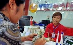 Giá USD ngân hàng lại tăng tốc