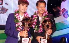 """Thành Lương và Tuyết Dung giành """"Quả bóng vàng VN 2014"""""""
