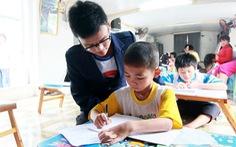 Lớp học tiếng Anh ở làng chài