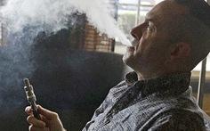 Thuốc láđiện tử gây khó cai thuốc