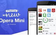 Opera Mini 8 néndung lượng trang web xuống chỉ còn 10%