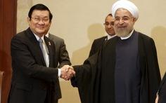 Iran tạo điều kiện hợp tác dầu khí với Việt Nam