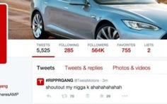 Website Tesla và tài khoản Twitter bị hack