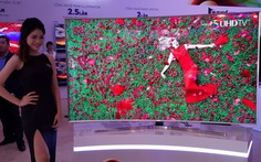 Samsung, Sony ra mắt tivi 4K UHD cho 2015