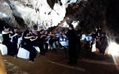 Hòa nhạc trong động Phong Nha phục vụ du khách