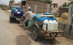 Bến Tre thiếu nước ngọt nghiêm trọng