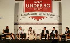 Hơn 1.000 bạntrẻ dự diễn đànForbes Vietnam
