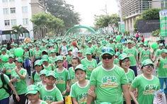 """10.000 người """"Đi bộ đồng hành – MILO hành trình năng lượng xanh"""""""