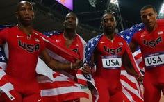 Mỹ bị tước HCB 4x100m tiếp sức nam tại Olympic 2012