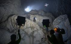Hậu trường làm phim ở hang Sơn Đoòng