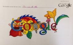 Tranh Doodle của trẻ em VN lên trang chủ Google